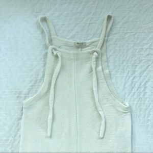 Madewell Other - Madewell Texture & Thread tie strap overalls ☁️